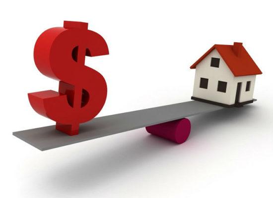 При оценке жилого дома по ипотечному кредитованию  оценка земли и выезд оценщика бесплатно!